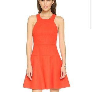 4.Collective Bright Orange Strappy Dress